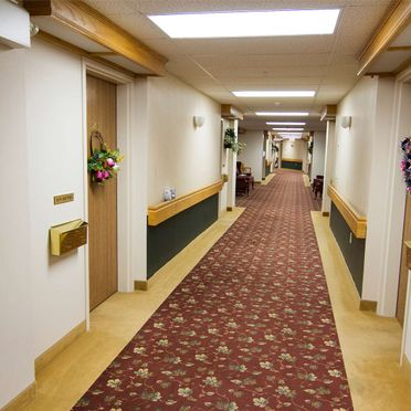 Kelso Villa Retirement Home Hallway